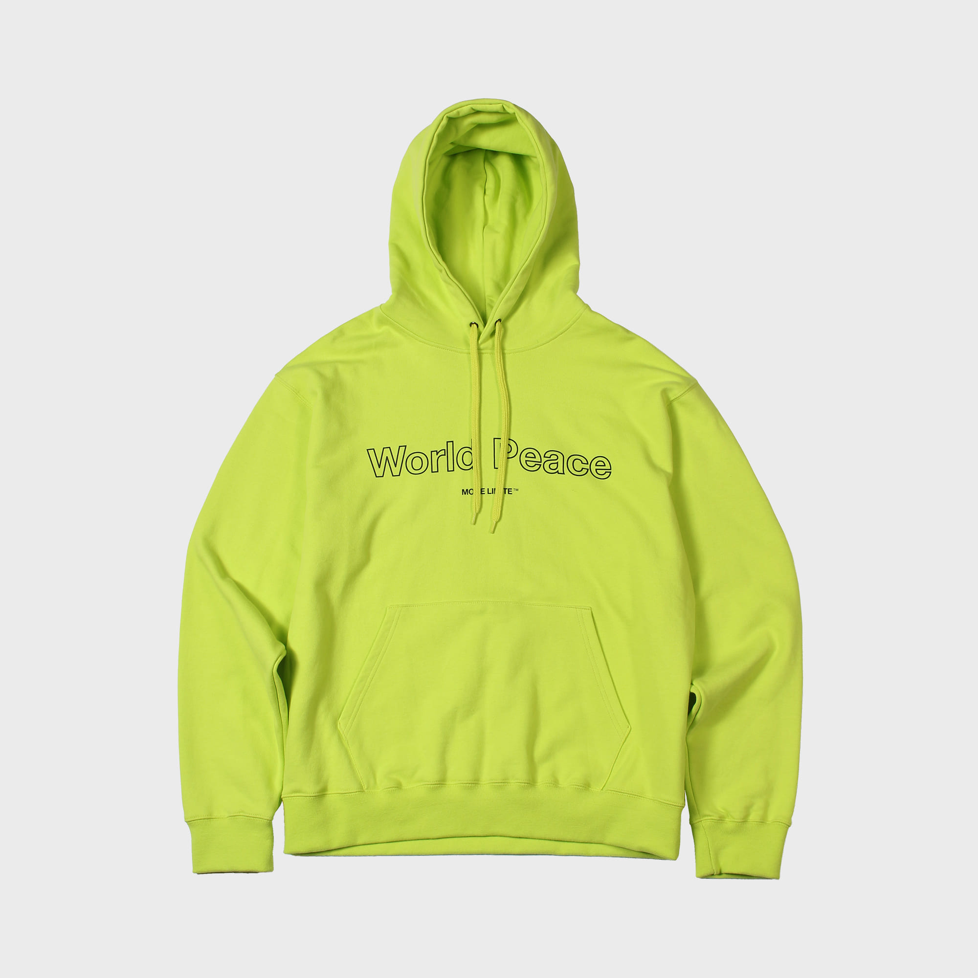 World Peace Hoody Neon