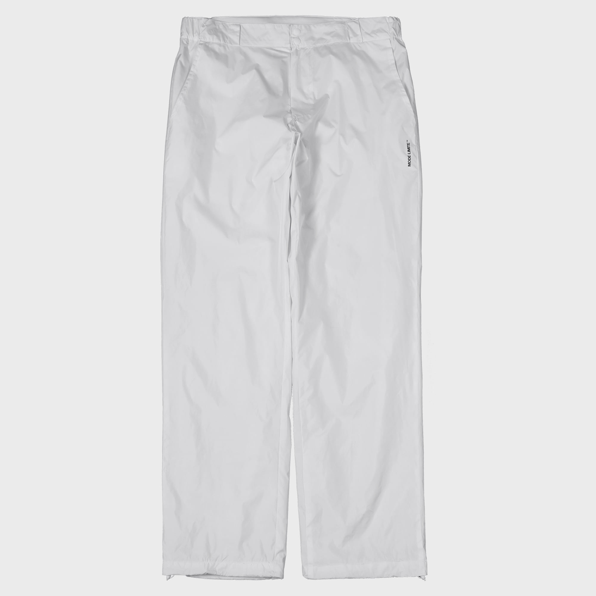 Nylon String Pants White