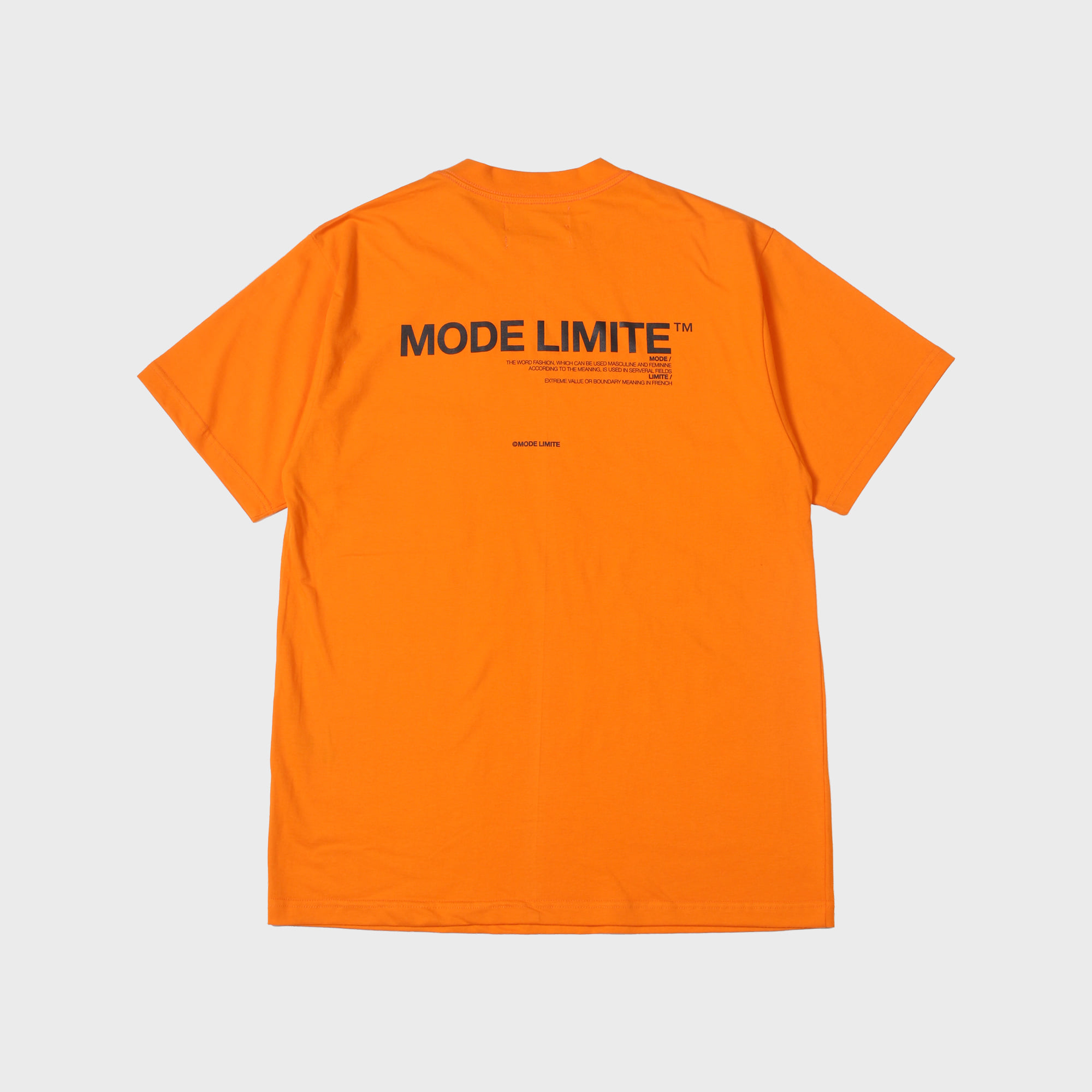 Mle Logo Pocket 1/2 T Orange