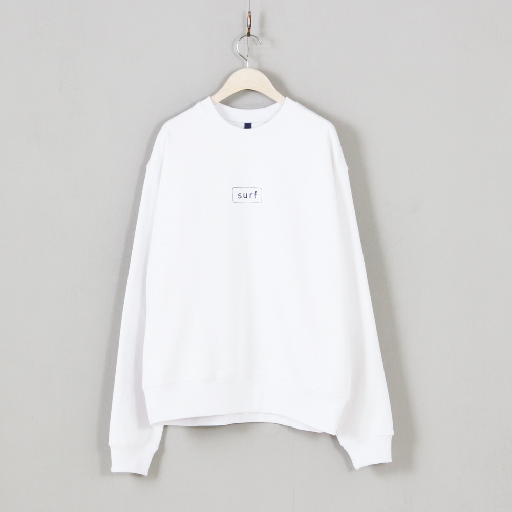 CAMPAIGN Sweatshirt - Surf White