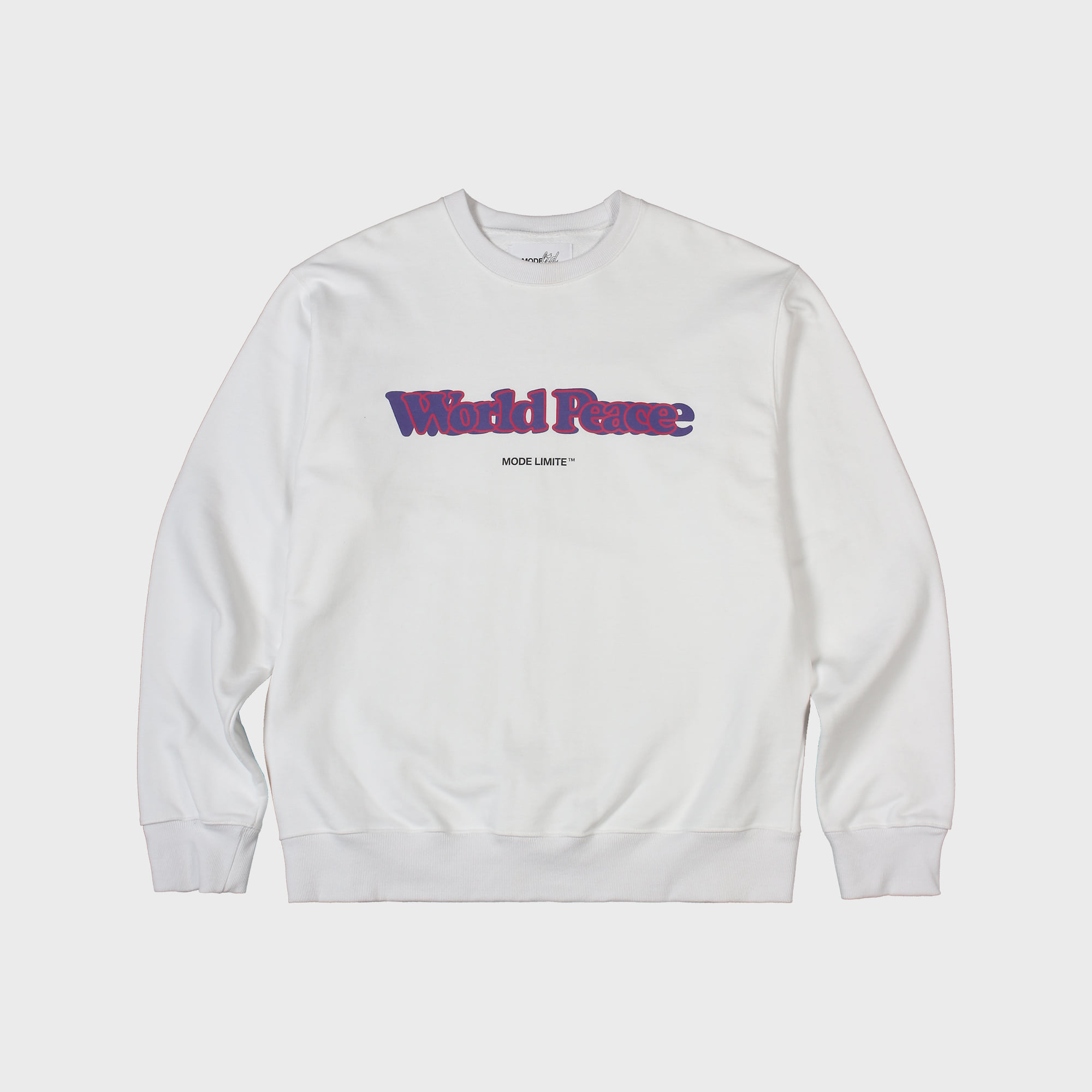 World Peace Sweatshirt White