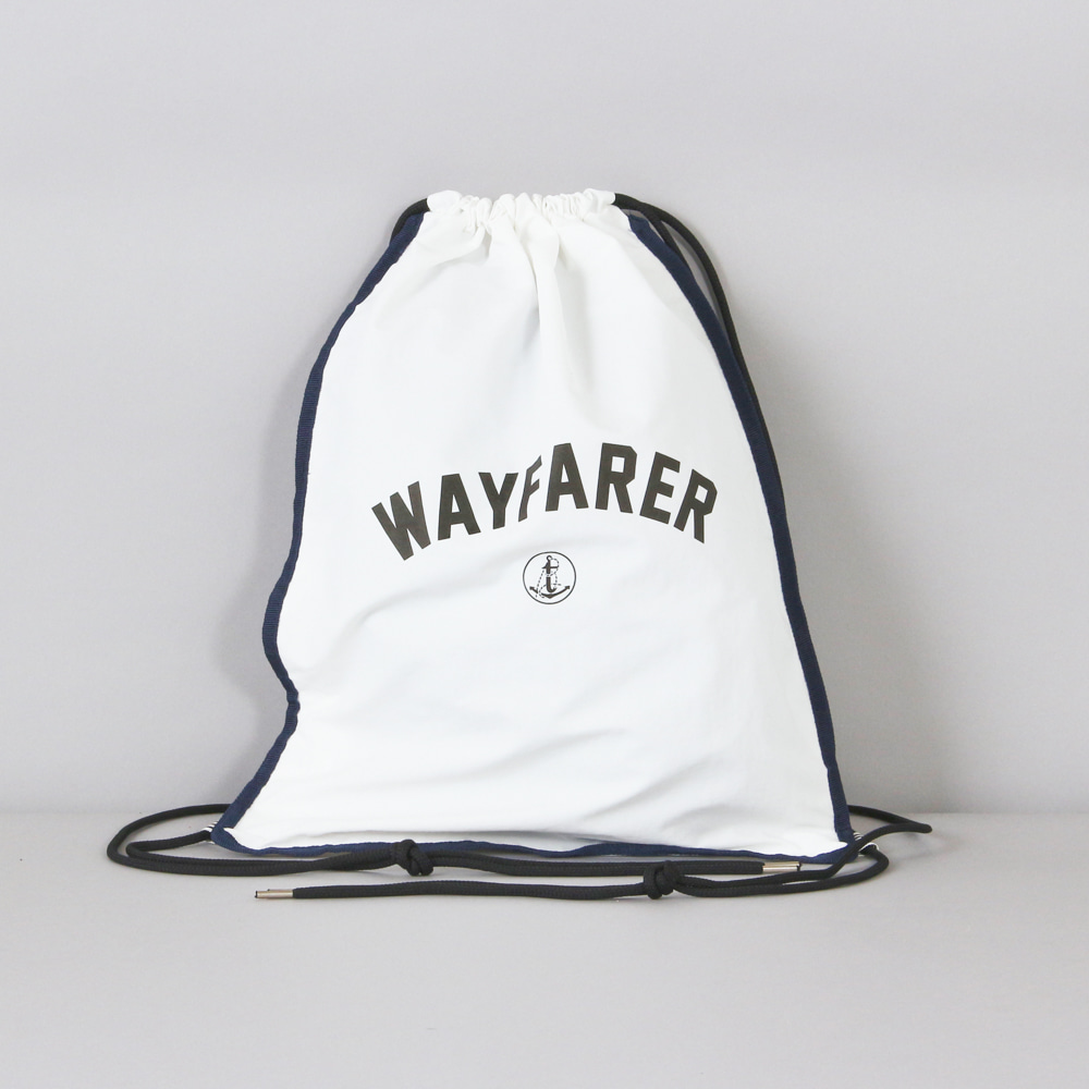 LEIT X BUND - WAYFARER Dust Bag Off White