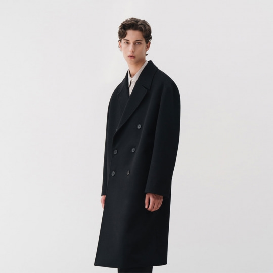 IN SILENCE X BUND - Explorer Double Coat Black
