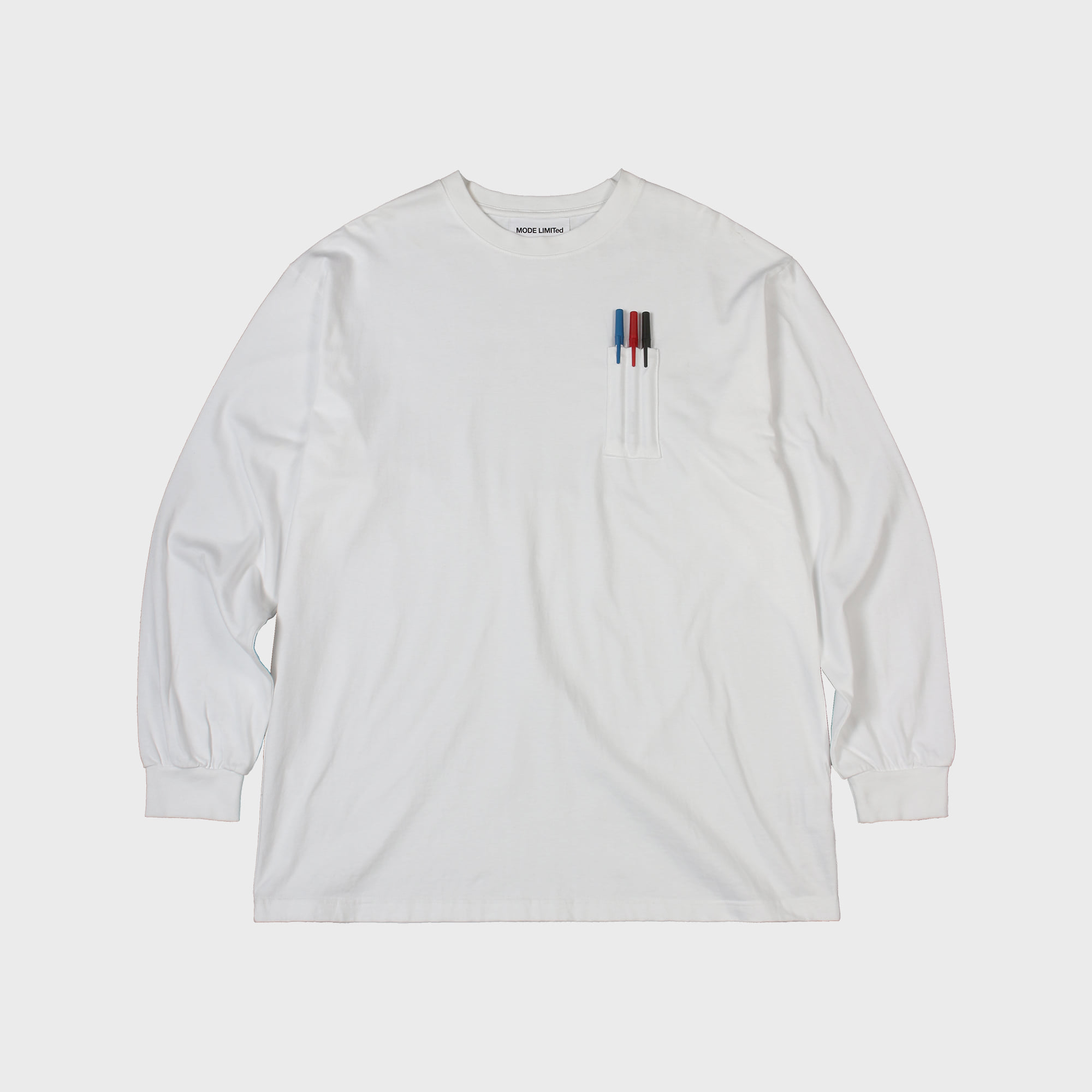 3pocket T White